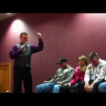 hypnotist show with Steve Meade